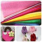 "12"" Mix Color Polyester Non woven Felt Fabric Sheets Craft Felting 30x30cm DIY"