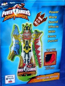 "Power Rangers Dino Thunder 48"" Electronic BOP Bag New Factory Sealed Megazord"