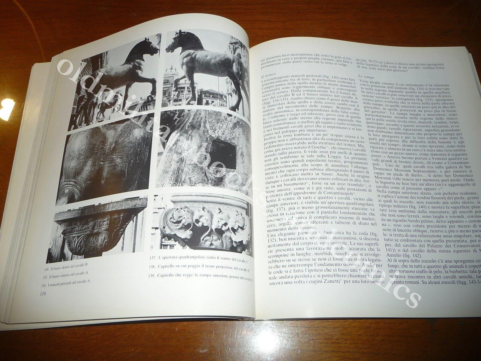 I CAVALLI DI SAN MARCO CATALOGO MOSTRA PALAZZO REALE MILANO 1981 FOTOGRAFICO