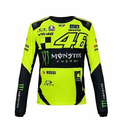 MOMTS 274428 Officiel Valentino Rossi VR46 Monza Replica t/'shirt