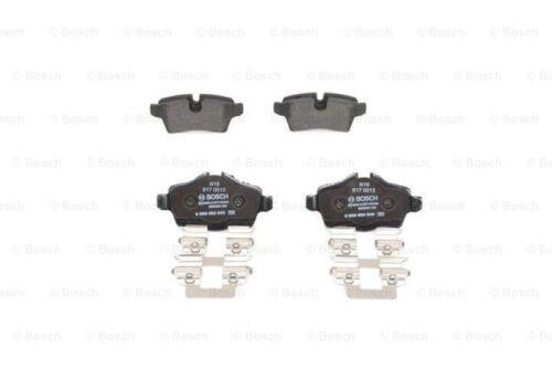 BOSCH Bremsscheiben Bremsbeläge hinten Mini R55 R56 R57 Cabrio Cooper