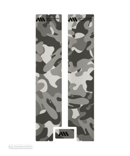 All Mountain Style HONEYCOMB MTB Fork Guard Protector CAMOUFLAGE