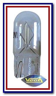 "1 Ampoule Vega® Halogène T10 W5W ""Maxi"" 5W"