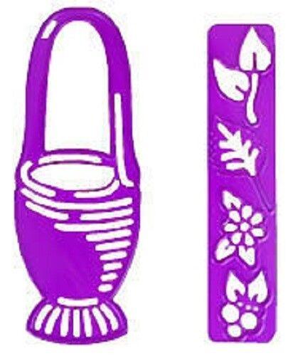 JOY CRAFTS Cutting /& Embossing Die BASKET//FLOWERS 6002//0086
