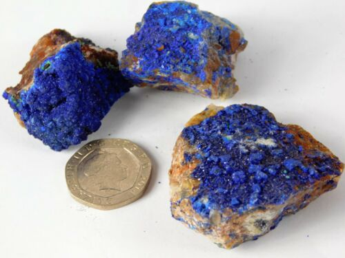 Azurite Crystal High Collectors Grade Morocco Mineral Pick Your Own