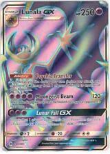 Pokemon TCG SM SUN & MOON BASE SET : LUNALA GX 141/149 FULL ART