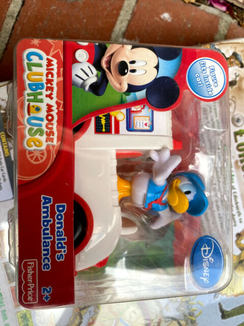Mickey Mouse Donald's Ambulance Pack New  Donald Duck