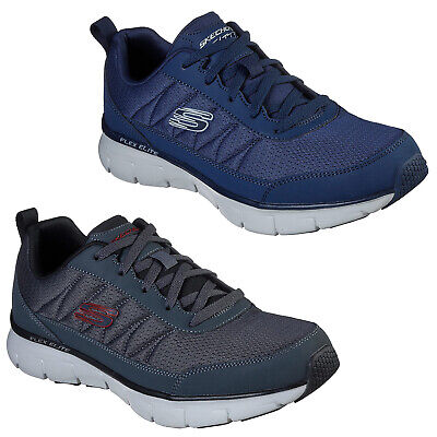 Skechers Synergy 3.0 Ausbilder 52584 Herren Leder Mesh Athletic Training Schuhe | eBay