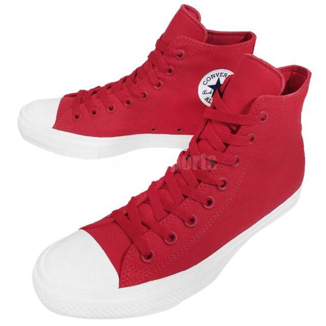 0d6c545ad72a50 Converse Chuck Taylor All Star Signature II 2 Red Lunarlon Mens Shoes  150145C