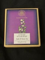 Brand Forest Essentials Luxury Sugar Soap Oudh & Green Tea 125g 4.4 Oz.