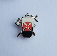 England St George Knights Templar Axe & Sword  Badge Enamel Pin Badge Oi!