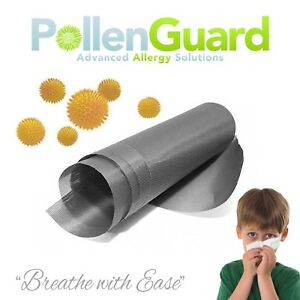 Pollen-Guard-Pollen-Resistant-Allergy-Insect-Fly-Screen-120cm-W-x-5-meter