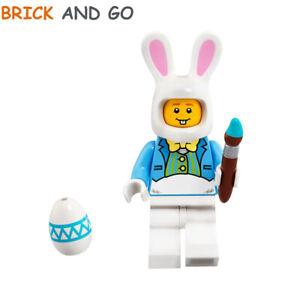 Easter Bunny Guy NEUF NEW LEGO City Minifigure HOL116 Gars Lapin de Pâques