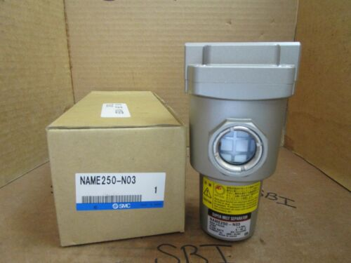 "SMC Super Mist Separator NAME250-N03 NAME250N03 1.0 MPa 500 I//min 3//8/"" NPT New"