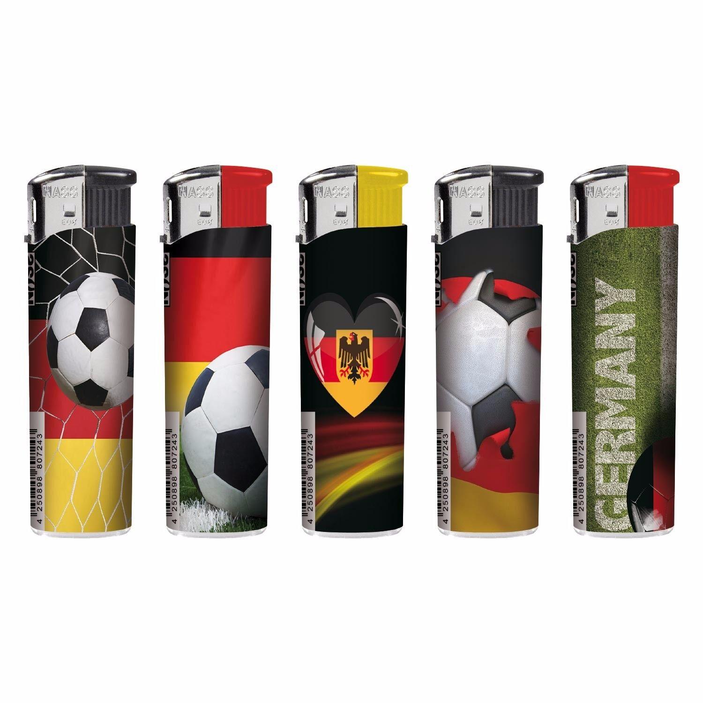 Elektronik Gasfeuerzeuge Gasfeuerzeuge Gasfeuerzeuge Feuerzeuge Motive Fußball Germany Champion 7d7164