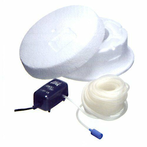 Ubbink Eisfreihalter 25 cm inkl Belüftungspumpe OXY 100 2,5 Watt 1355958