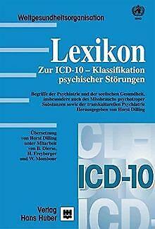 Lexikon zur ICD-10-Klassifikation psychischer Störungen ... | Buch | Zustand gut