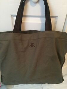 Image is loading Banana-Republic-Bag-Tote-Weekender-Travel-Gym-22x15- f8e49d8269629