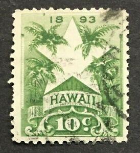 HAWAII  SCOTT #77    USED