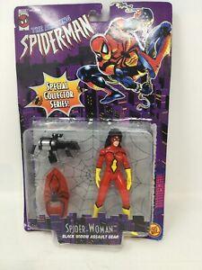 THE-AMAZING-SPIDER-MAN-TOY-BIZ-5-034-SPIDER-WOMAN-ACTION-FIGURE-MARVEL-COMICS-NEW