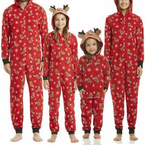 Family Christmas Pajamas With Baby.Details About Family Christmas Pajamas Set Xmas Pjs Matching Pyjamas Adult Kids Xmas Sleepwear