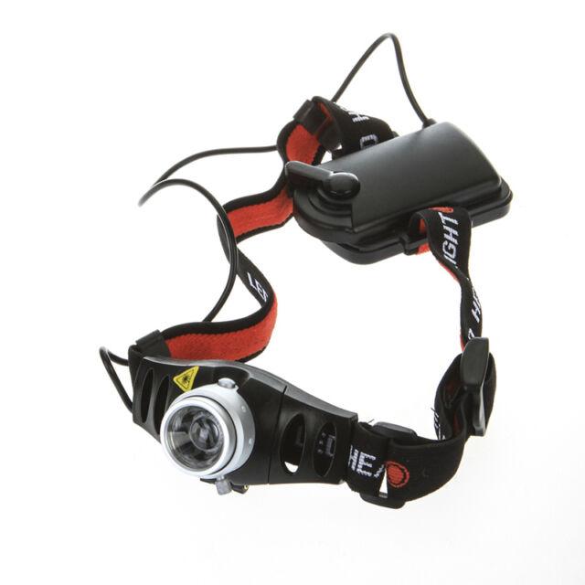 500 Lumen Q5 LED Headlamp Headlight Zoomable Brightness Adjustable 2 Mode 0XE4