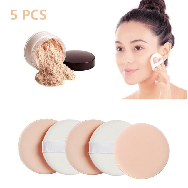 5X Facial Beauty Sponge Powder Puff Pads Face Foundation Makeup Cosmetic  Tool