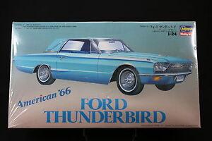 XO41-HASEGAWA-1-24-maquette-voiture-CB-5-CB005-1400-Ford-Thunderbird-American-66