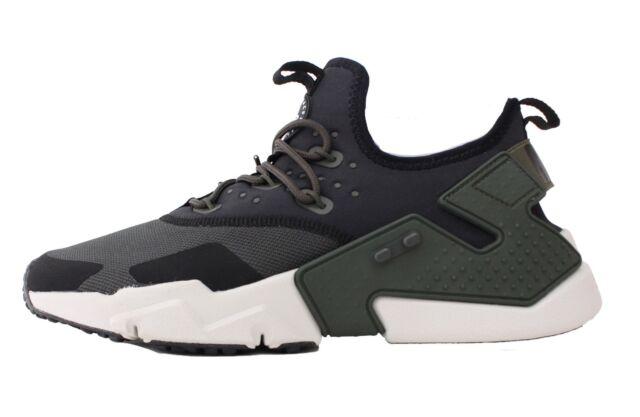 Nike Men Air Huarache Drift (sequoia light bone black white)