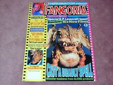 FANGORIA # 106 - H.P. Lovecraft, Child's Play 3, Cast Deadly Spell FREE SHIP USA