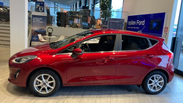 Ford Fiesta 1,5 TDCi 85 Titanium billede 1