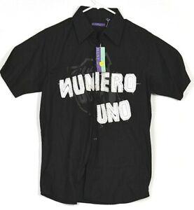 Blunt-Numero-Uno-Shirt-Large-Mens-Dress-Shirt-Button-Up-Formal-Designer-Top-L