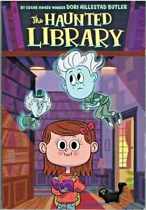 The Haunted Library by Dori Hillestad Butler 2014 Children Paperback Book 1