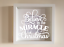IKEA RIBBA Box Frame Vinyl Wall Believe in the Miracle of Christmas Joined