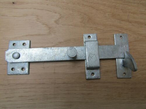 SPARE DROP BAR LATCH GATES DOORS SHEDS LATCH LOCK WITH KEEP /& CATCH