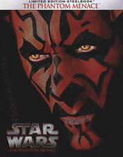 Star Wars Episode I: The Phantom Menace (Blu-ray Disc, 2015, Steelbook)