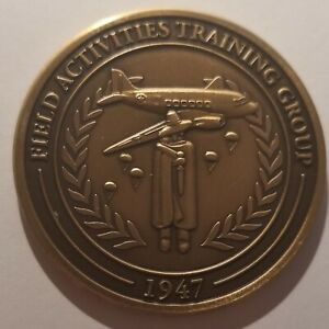 CIA NCS SAD SOG White Arts Field Activities Training Group Harvey Point NC Coin