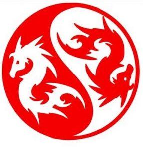 Wall Sticker Custom Vinyl Indoor Decal Window Laptop Art Dragon - Custom vinyl wall decals dragon