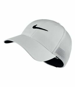 2dae2af1be2 Nike Golf Legacy 91 Tour Mesh Adult Mens Stretch L xl Hat White 810545 015
