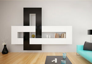Brin 1 - modern living room entertainment center / wall unit for tv / tv stand