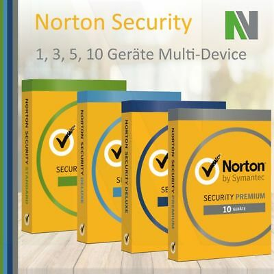 Norton Security 1 3 5 10 Pc Ger 228 Te 1 2 Jahre 2019 Mac