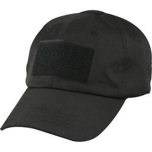Buy Black Police Low Profile Adjustable Tactical Hat Operator Cap ... 0c5df1d93e2