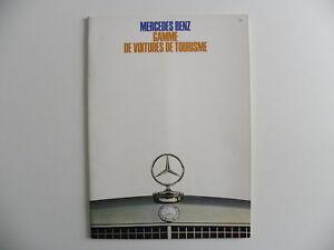 Catalogue-brochure-MERCEDES-BENZ-gamme-de-voitures-de-tourisme-de-08-1968