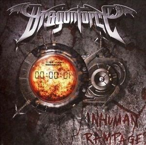 Dragonforce-Inhuman-Rampage-Heavy-Metal-1-Disc-CD