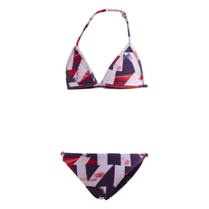 Para editar bañera Elección  Adidas Chicas Bikini por Todo Estampado Bañador Niño Entrenamiento Playa  Pool De | eBay