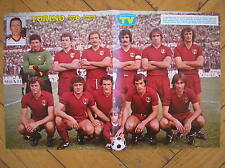 TORINO TORO CALCIO SCUDETTO SQUADRA 1976/77 CAMPIONE D'ITALIA SORRISI E CANZONI