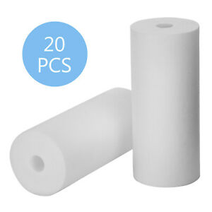 Sediment Water Filter Cartridge 5 Micron Replacement 20 Pack 10 X 4.5 Inch