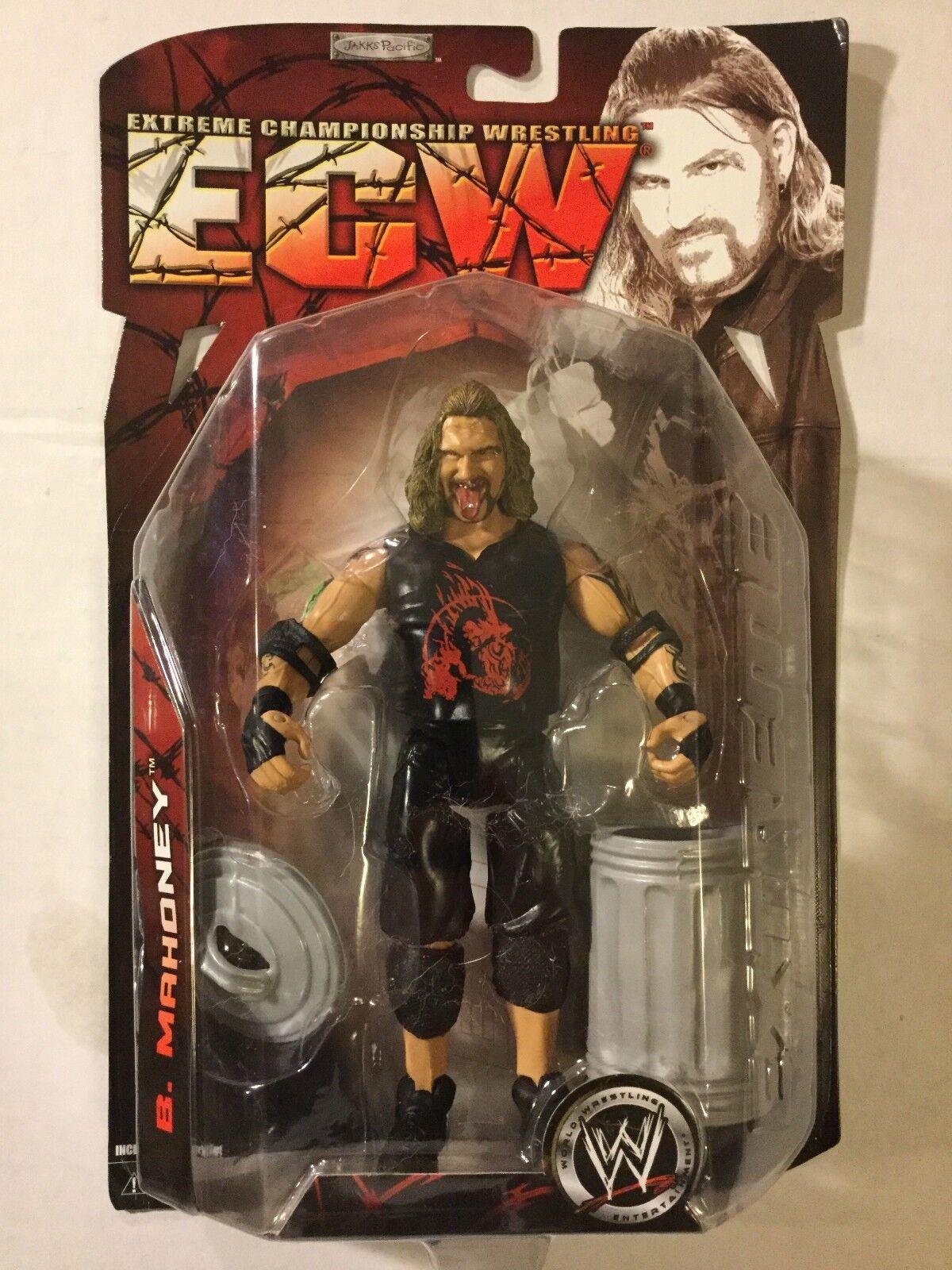 BALLS MAHONEY 2007 WWE Ruthless Aggression ECW Series1 Jakks FREE SHIPPING