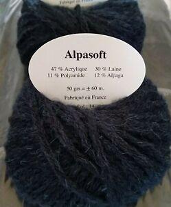 10-Pelotes-Laine-et-Alpaga-ALPASOFT-Marque-Francaise-Bleu-Petrole