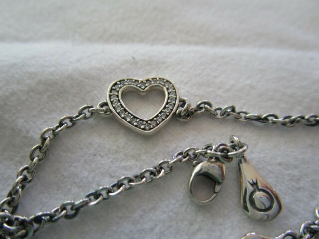 Pandora Symbol Of Love Bracelet 590508cz Ebay